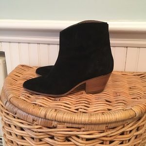 Isabel Marant Dacken Ankle Boots Black Suede 37